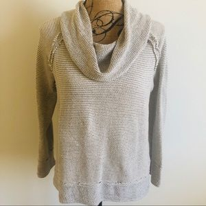 Lucky Brand Cowl Neck Pullover
